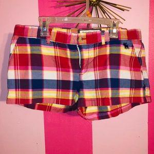 Plaid Shorts!